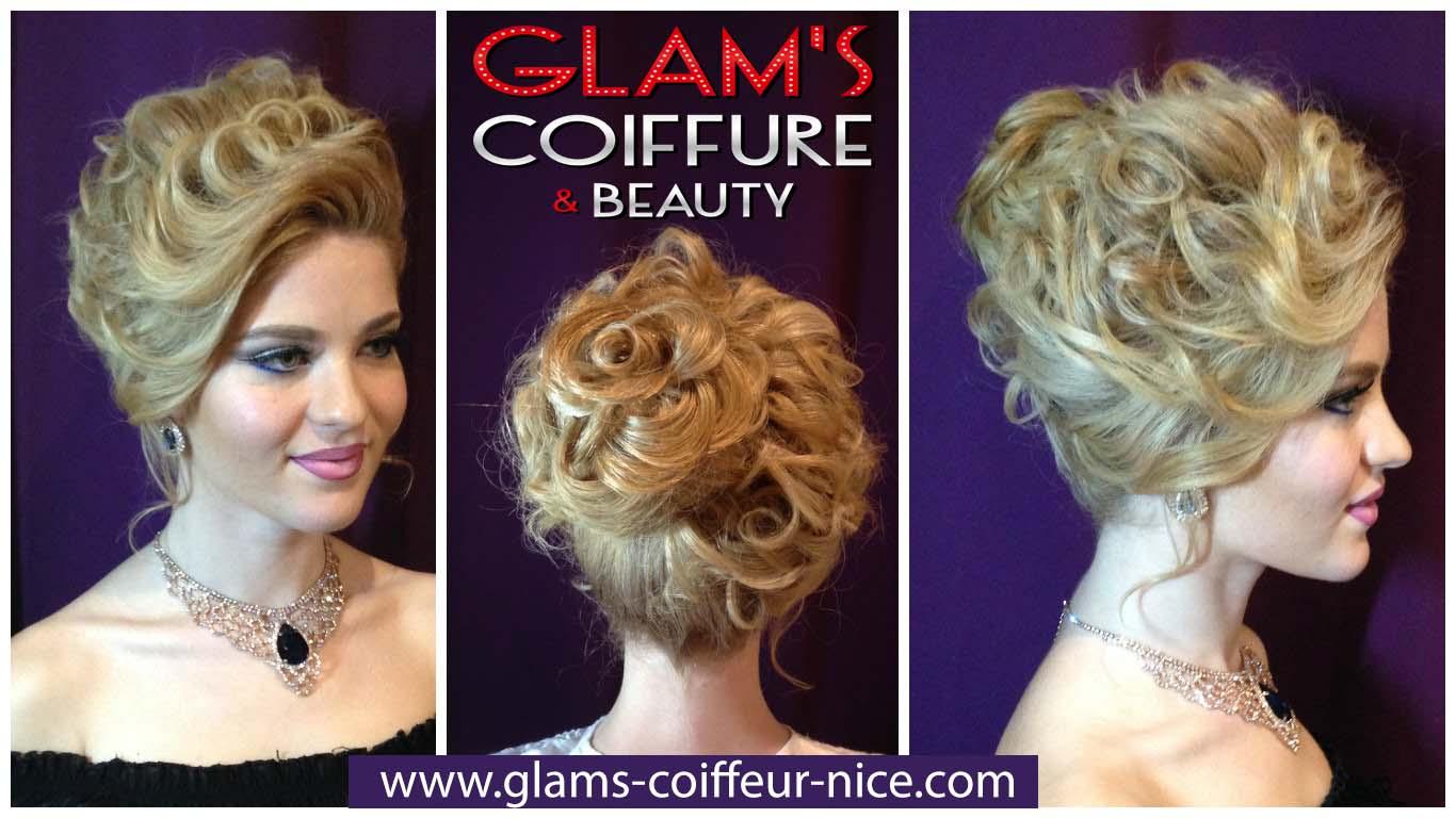 Glam's coiffure mariage 14 rue Arson 06300 Nice