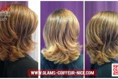 Glams coiffure Balayage