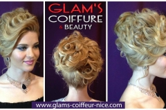 Glam's coiffure mariage 14 rue Arson 06300 Nice