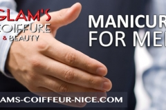 Manicure homme
