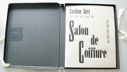 """""""Salon de coiffure"""", portfolio de 6 eaux-fortes de Caroline Sury imprimées à 30 exemplaires sur Hahnemühle 300 g format 30 X 24 cm.    Posté par AH-POOK  sur 2008-06-29 16:21:31      Tagged: …"""