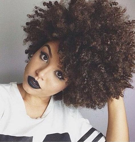 De magnifiques coiffures afro-américaines naturelles
