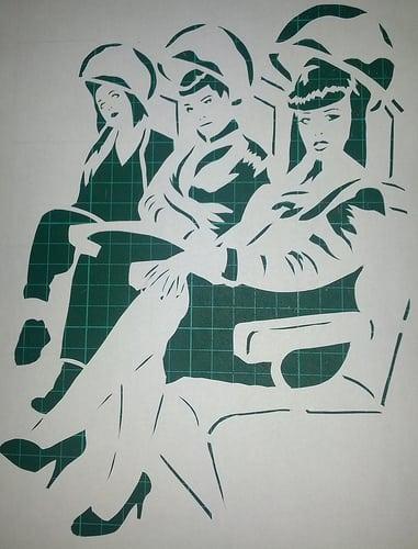 Posté par raia2mars  sur 2012-08-13 19:03:59      Tagged:  , raia , street , art , street art , pochoir , stencil , marseille , girls , girls on the wall…