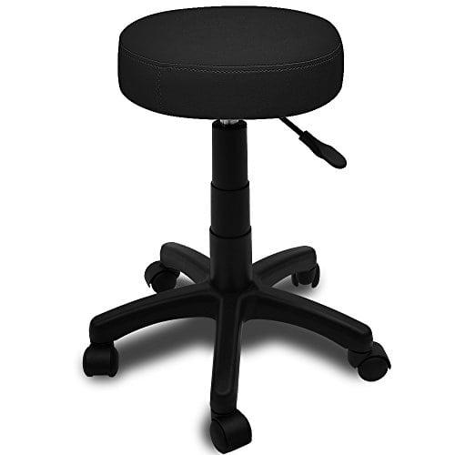 acheter maintenant     EUR 29,99 Description:   La tabouret offre un grand confort d'assise et beaucoup de flexibilité. Il est réglable en hauteur sans niveau et pivotable à 360°. Le vérin à gaz assure un confort d'assise supplémentaire.…