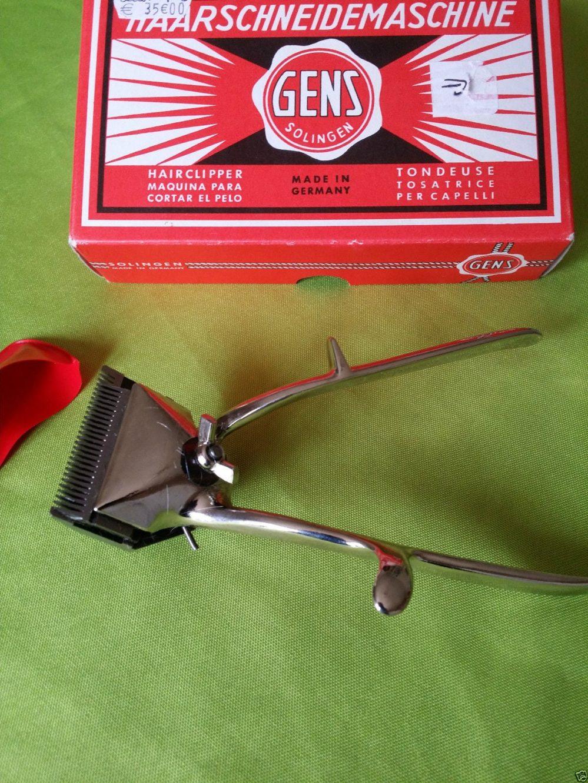Tondeuse Cheveux Coiffeur Ancienne SOLINGEN Made in Germany  Prix : 10.00  Termine le : 2016-08-11 15:54:49  Vu sur eBay    …