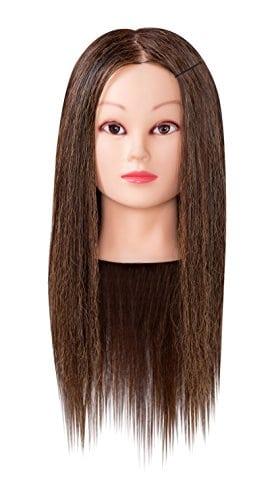 acheter maintenant     EUR 34,50  Femelle. 95 % Cheveux humain/ 5% Camel. Nouvelle tête d'apprentissage au cheveux 95% naturel en leur implantation directionnelle naturel est idéal pour l'élaboration de coiffures tendance, coupe, coiffag, mise en forme et…