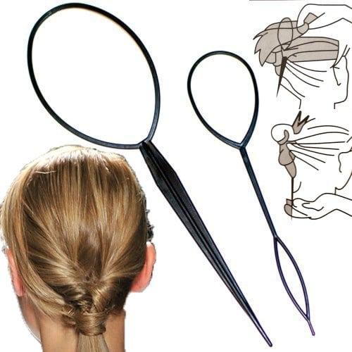 acheter maintenant     EUR 0,49 100% Brand New Couleur: Noir Longueur (Big): environ 19,5 cm Longueur (Petit): environ 14.4cm Comment utiliser: (1): Trouver un élastique pour cheveux à mettre vos cheveux dans une queue de cheval basse. Insérez…