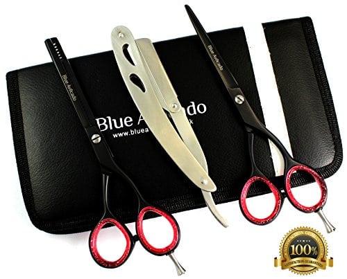 acheter maintenant     EUR 59,99 Handmade professionnel CNC amincissement des cheveux / texturation cisailles de haute qualité en acier inoxydable AISI 420 / J2. HRC 54c à 55c. Polonais coiffure cisaillement de cheveux de texture pour une vaste…