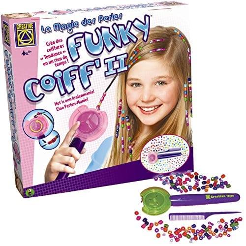 acheter maintenant     EUR 19,84 Un jouet idéal a partir de 7 ans pour les petites filles adeptes des coiffures tendances! Un appareil de coiffure tres pratique pour agrémenter ses cheveux de perles colorées. Fille – Des 7…