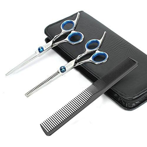 acheter maintenant     EUR 14,99 Spécifiactions techniques:  Type : Outil de Coiffure  Matière: Acier Inoxydable  Modèle : F-802  Couleur : Bleu  cheveux en Dégradé : 20-25%  Taille de ciseau : 6,0 pouces…