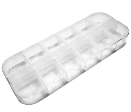 Acheter maintenant     $3.84 10PC Nail Art Acrylic Rhinestone Plastic Case Ongles …