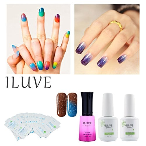 Acheter maintenant     $23.07 This amazing line of Gel Polishes comes from a manufacturer with 20 years of experience in the industry! The iLuve brand has selected hundreds of colors to meet anyone's desire. Our advanced Soak Off…