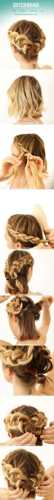 [ad_1]  Crown Braid For Bob Length Hair Tutorial therighthairstyle… Source by buzzfeeduk [ad_2]  …