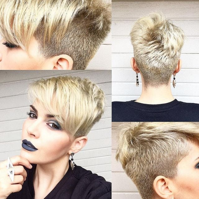 just short haircuts, nothing else. If you're thinking of getting an undercut, sidecut, pixie, or any… Source by franmancuso   …