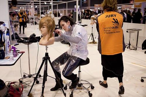 Coiffure Anais Sagory @ Florence Levillain  Posté par Région Bretagne  sur 2011-02-18 13:59:36      Tagged:  , Olympiades , nationales , 2011   …