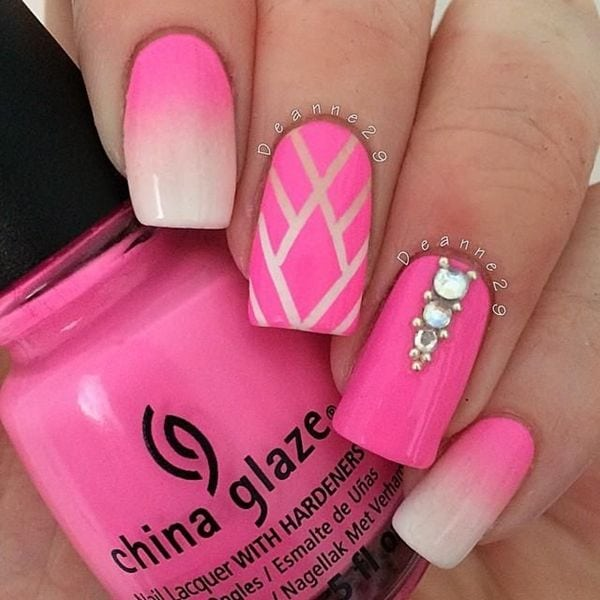 Beautiful & Elegant 30 Striping Tape Nail Art Designs 2017 – Reny styles Source by andreababee91   …