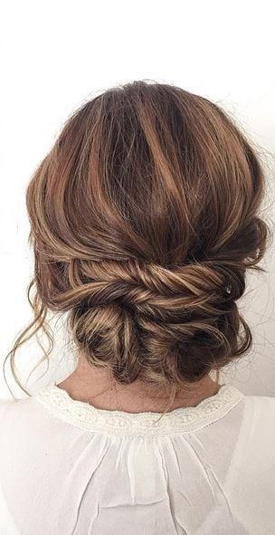 bridal updo wedding hair – Deer Pearl Flowers / www.deerpearlflow… Source by deerpearlflower   …