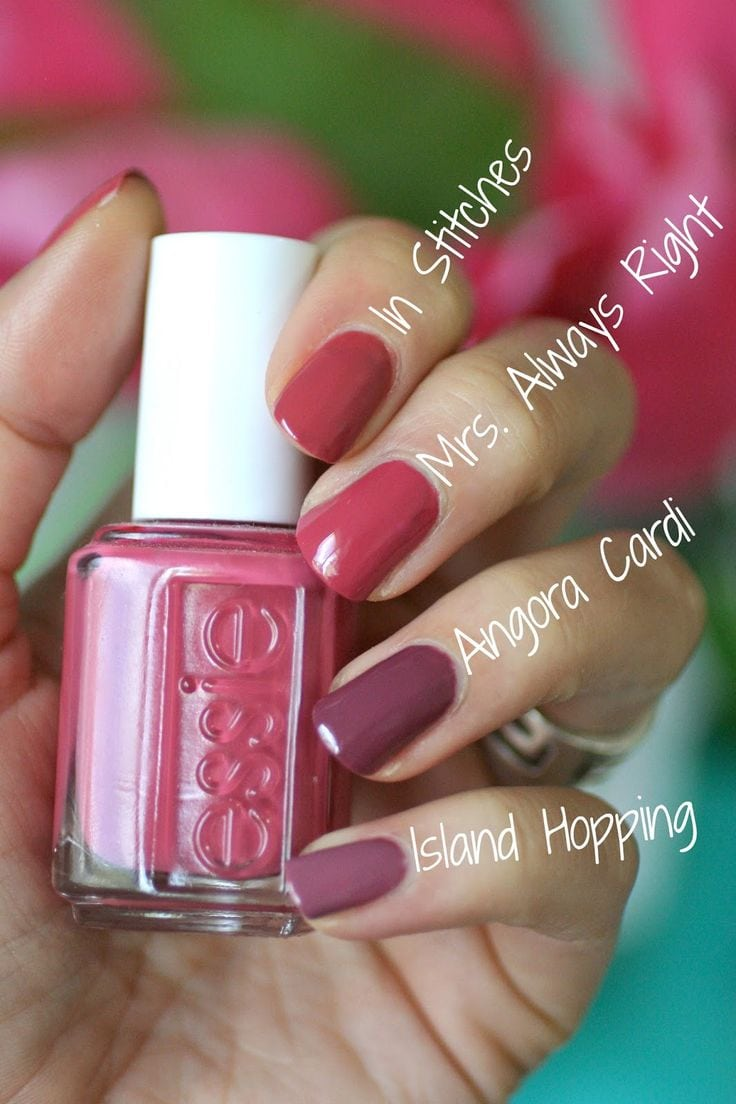 Essie Bridal 2016 – Mrs. Always Right Collection Review & Comparisons | Essie Envy Source by KindraLee   …