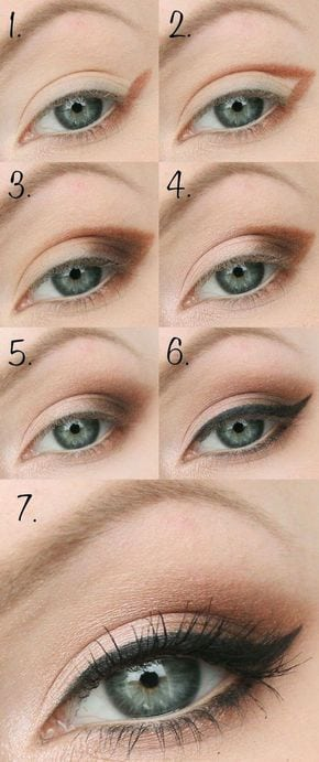 eye makeup 16 – Looking for Hair Extensions to refresh your hair look instantly? www.hairextension…                         …