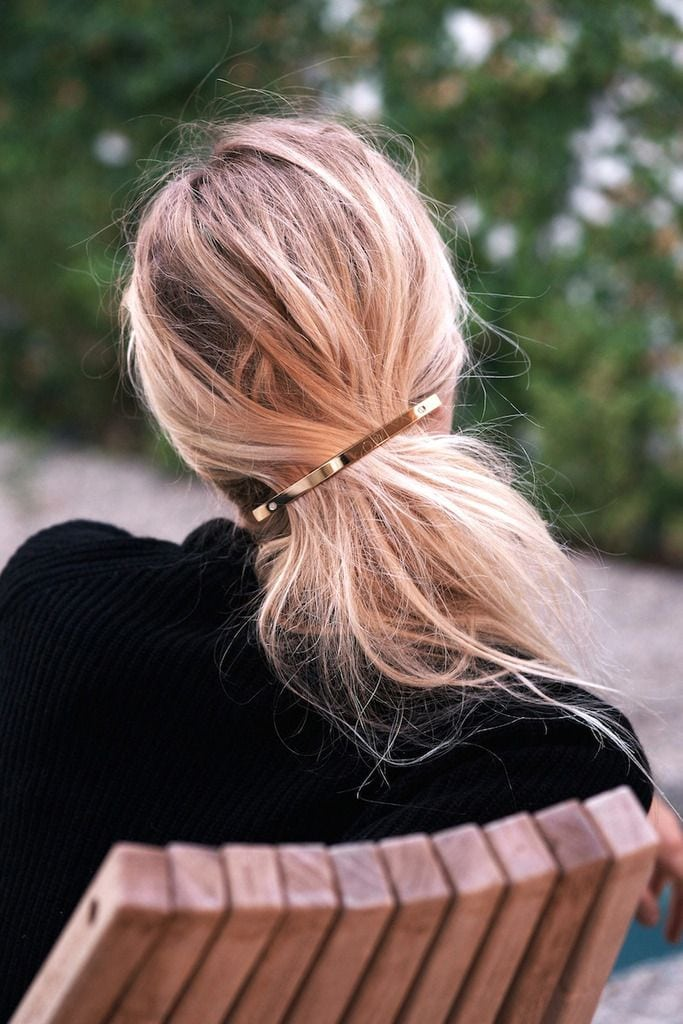 Hair Must-Have: The Gold Barrette | Le Fashion | Bloglovin' Source by jscakim94   …