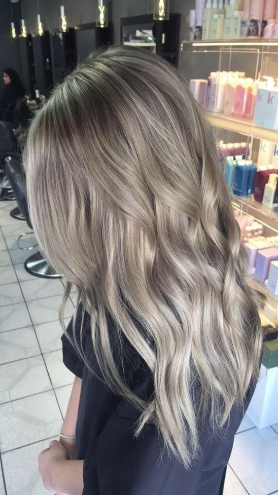 Pretty Hair Color for Long Hair – Ash Blonde Source by alinicole3ten   …