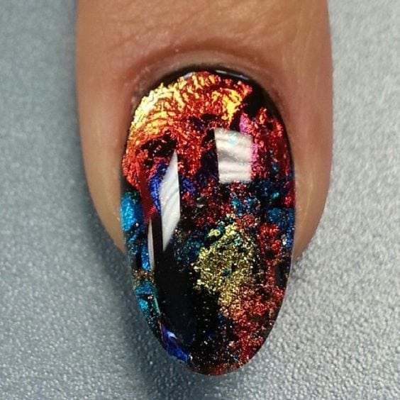 15 glitter nail polish especially for Christmas | Tis the season for sparkly nails