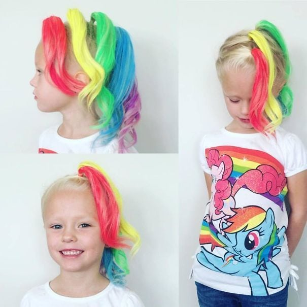 18 Crazy Hair Day Ideas For Girls & Boys Source by bennylo120   …