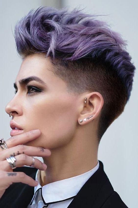 33 Stylish Undercut Hair Ideas for Women Source by ebudesa   …