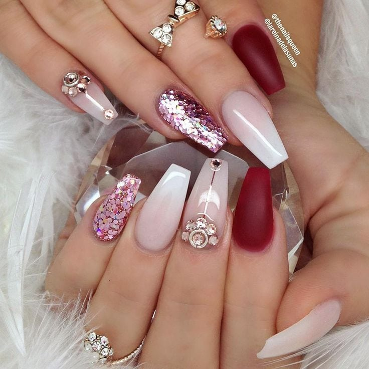 [ad_1]  Coffin nail art design | See this Instagram photo by @thenailsqueen Source by andrear31 [ad_2]  …