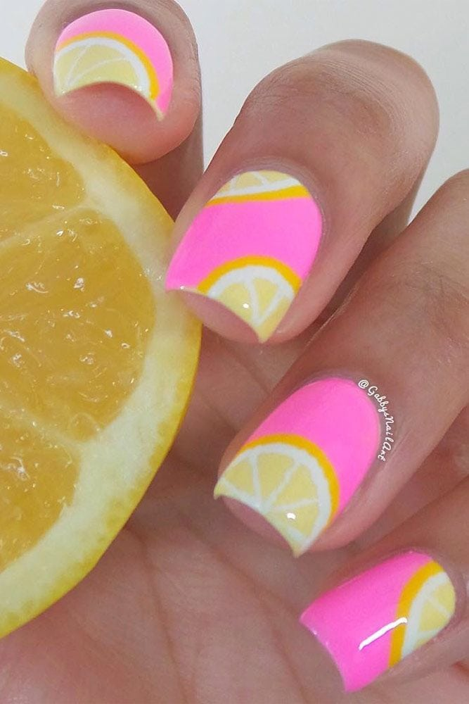Pattern Summer Nail Art Designs picture 6 Source by bibbiegrace   …