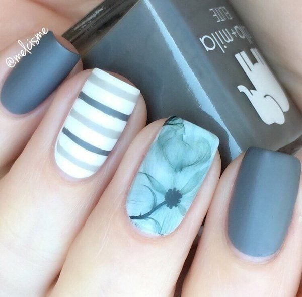 [ad_1]  Stripes are modern when we talk about wardrobe, but also and when we talk about manicure. If you have a wide nails stripes need to be drawn straight – that will visually narrow the nail, and if you have a…