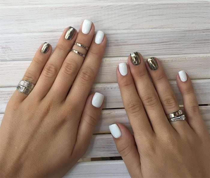 These 25+ nail design ideas for short nails are classy, cute, and fairly easy to pull off! This season we're seeing a lot of matte, classic white, and 3D designs. All of these are easily doable as long as you…