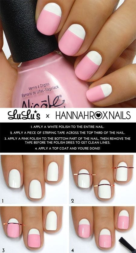 Do you want to do your manicure by yourself? It is a great idea to make a pretty look for your nails. Nowadays, nail art designs are really popular among young girls. For those beginners, you can choose some easy…