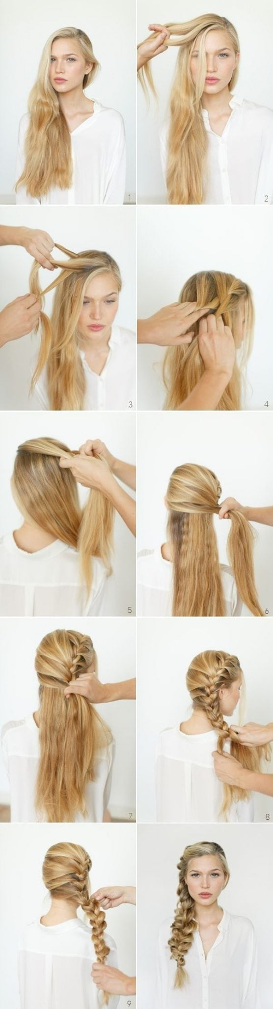 8 Cute Braided Hairstyles for Girls: Long Hair Ideas 2014 – 2015: Source by ilsz1990   …