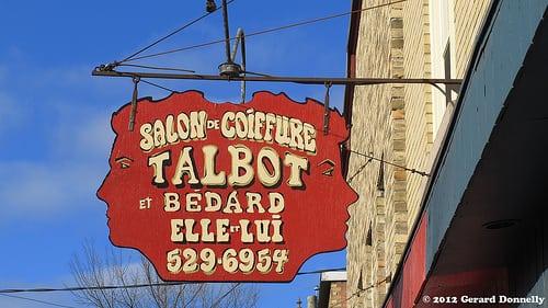 Location : Quebec City (QC – CA)  Posté par Gerard Donnelly  sur 2012-11-26 19:46:10      Tagged:  , sign , enseigne , coiffure   …