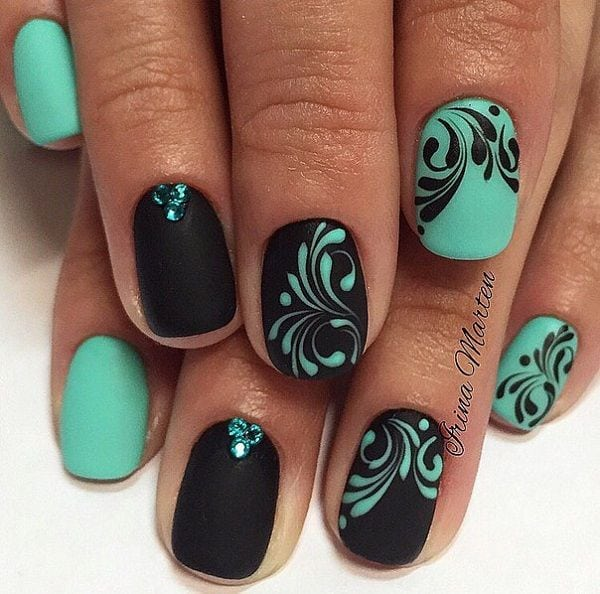 [ad_1]  Black can be beautiful combined with all colors, so is with the soft green. If you have manicure in two colorsopposite color on background in different color is interesting choice. Source by cuded [ad_2]  …