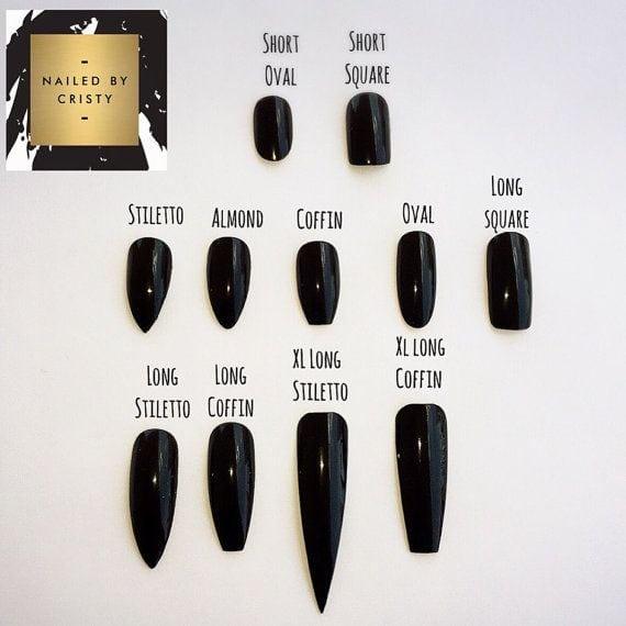 [ad_1]  Gold Glitter Press On Nails Glitter Nails Fake by NailedByCristy Source by mrswongsoredjo [ad_2]  …