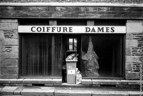 Coiffure dame.
