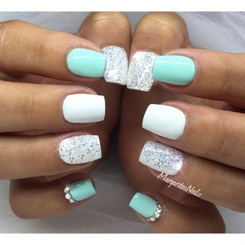 45 NAIL ART IDEAS FOR SPECIAL OCCASIONS Source by trend2wear   …