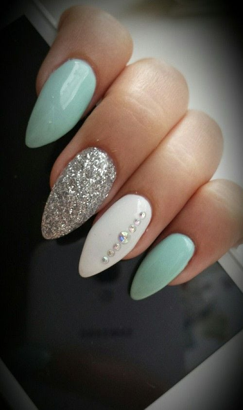 50 Gel Nails Designs That Are All Your Fingertips Need To Steal The Show Source by cutediyprojects   …
