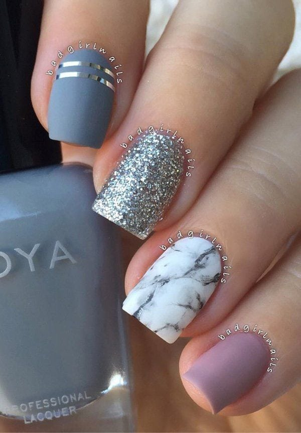 [ad_1]  As we can see all nails are different but it isn't conspicuously. Colors and designs are very nice are combined so that they look very attractive.Marble nails are very neat and trendy. Source by mkg02 [ad_2]  …