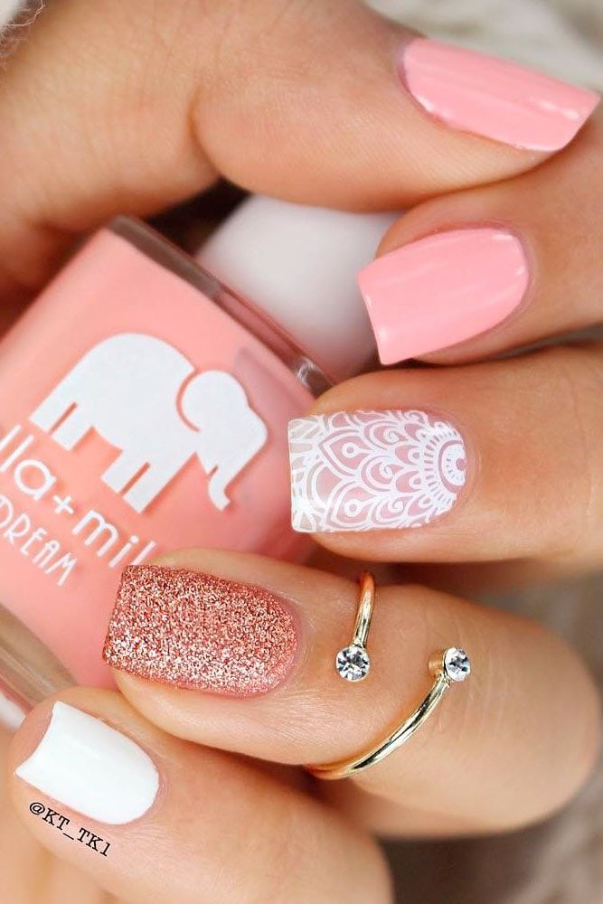 Perfect Pink Nails You'll Want to Copy Immediately ★ See more: glaminati.com/…