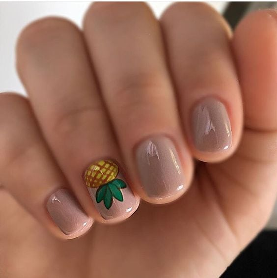 #nails #pineapple                                      …