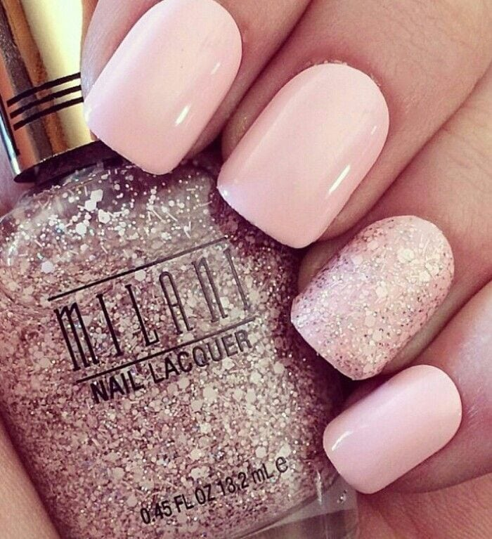 Valentines Nails – Simple but cute Source by caseymagdinec   …