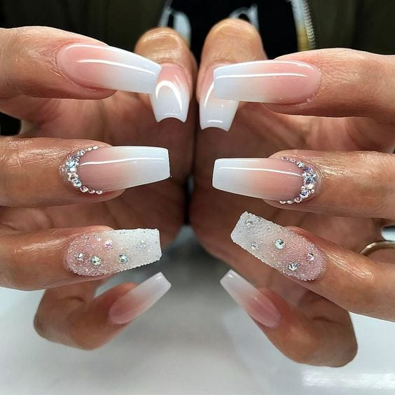 awesome 25 Fancy White Coffin Nails – Bright and Fasionable Designs Source by lauravoxx   …