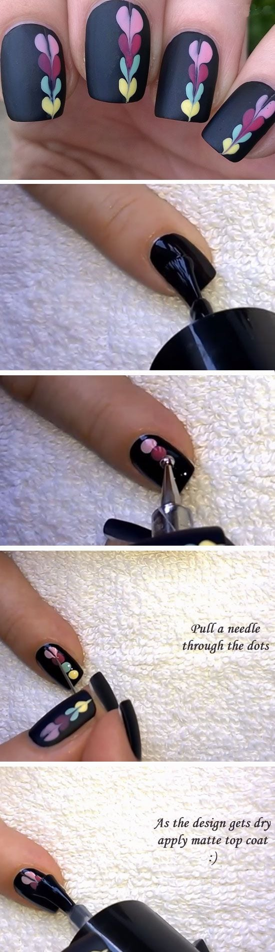 Colorful Hearts   Easy DIY Matte Nails Design Ideas for 2017   Easy DIY Valentines Nails for Kids Source by judydesormeaux9   …