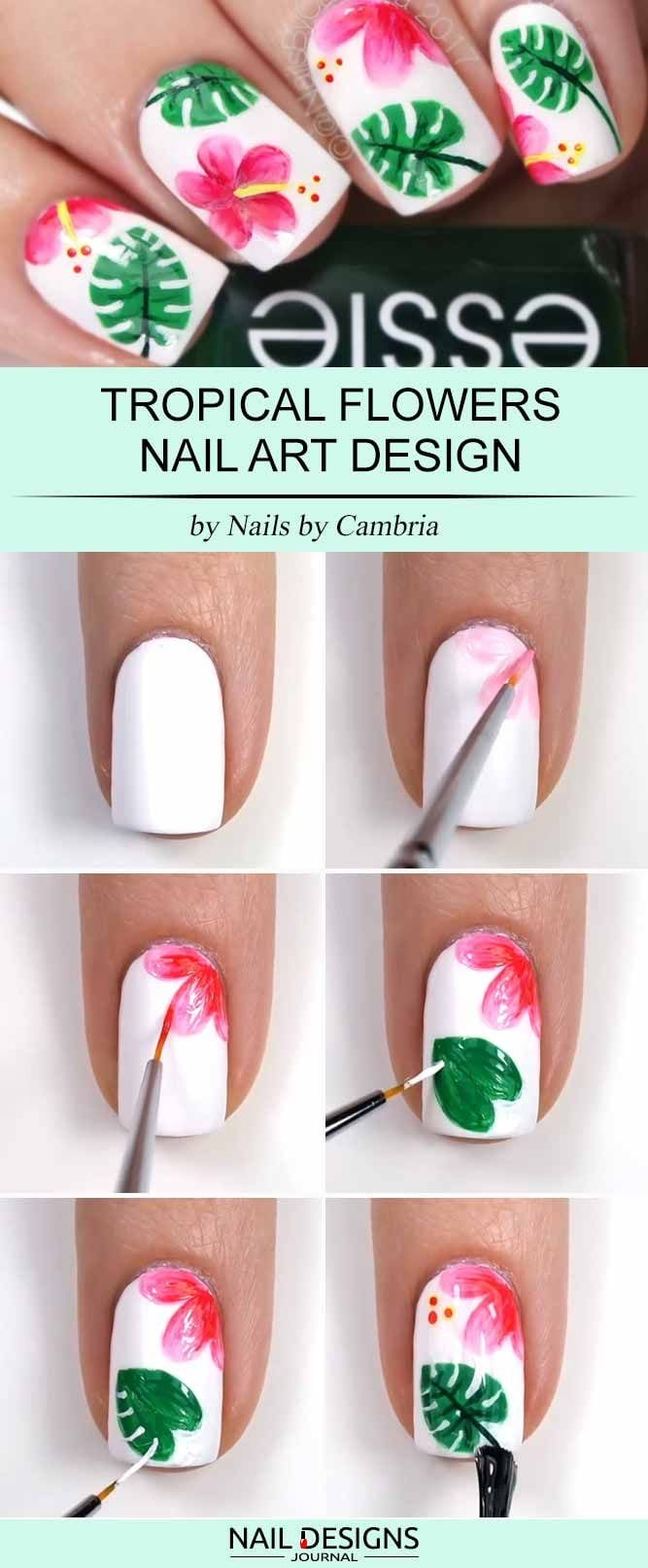 Cute And Easy Nail Designs to Do at Home ★ See more: naildesignsjourna… #nails Source by aimeofficial   …
