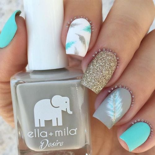 We are big fans of nail art! There is so many nail art designs out there so we decided to find 88 of the very best nail art we could find. Nail Art can be anything artistic or even designs…