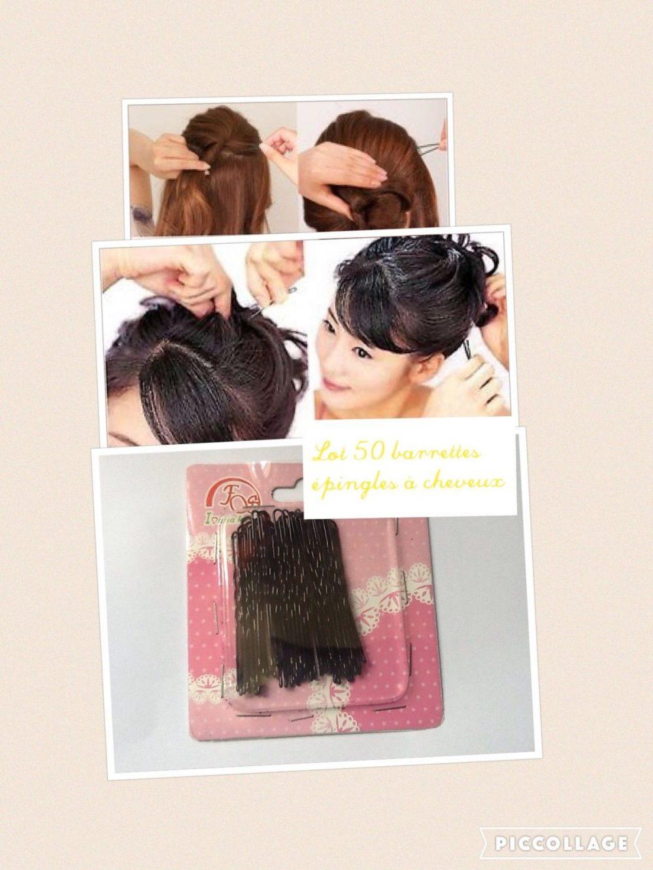 50xBarrettes épingle pinces à cheveux chignon coiffure  Prix : 4.99  Termine le : 2017-09-29 16:45:54  Vu sur eBay  …