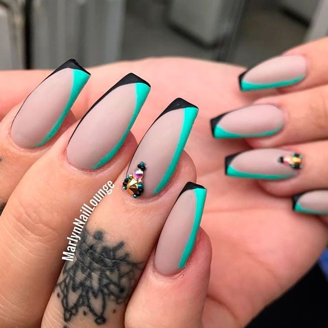 Best Long Nail Designs for Glamorous Girls ★ See more: naildesignsjourna… #nails